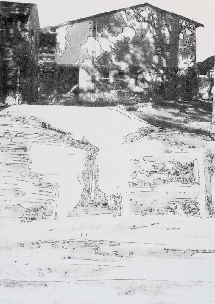 | Artist: Lorraine Corker | Title: In the Shadows | Limited edition silk screen print | Exhibition: The Armadale Project | 2008 |
