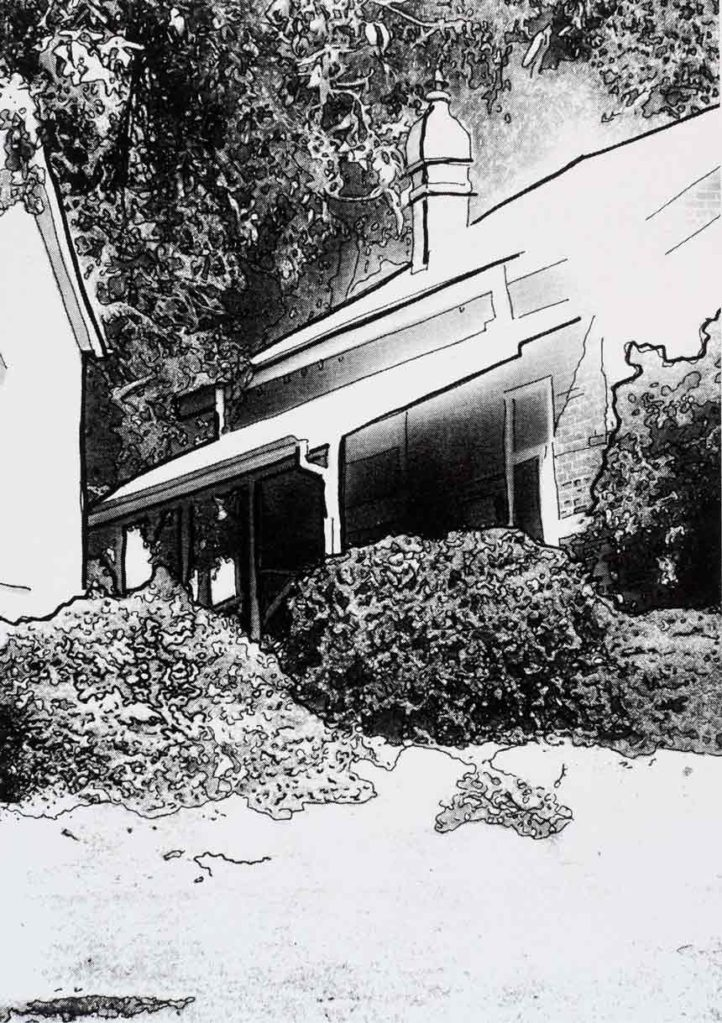 | Artist: Lorraine Corker | Title: Old School House | Limited edition silk screen print | Exhibition: The Armadale Project | 2008 |