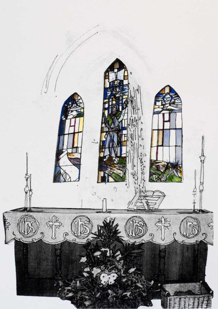 | Artist: Lorraine Corker | Title: St Matthew's | Limited edition silk screen print | Exhibition: The Armadale Project | 2008 |